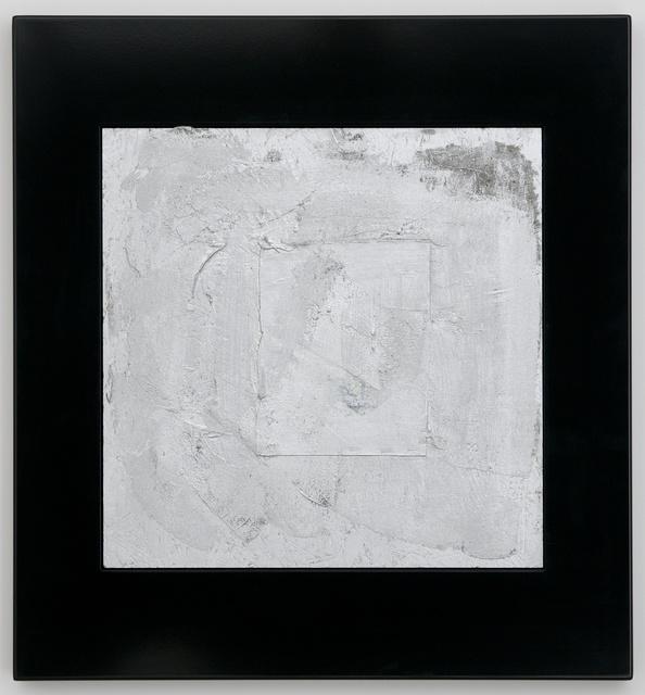 , 'Silver Square,' 2009, Casey Kaplan