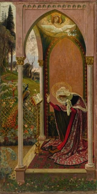 , 'The Annunciation or Ancilla Domini (L'Annonciation),' 1895, Guggenheim Museum