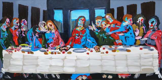 , 'The Last Supper ,' 2017, Maddox Gallery