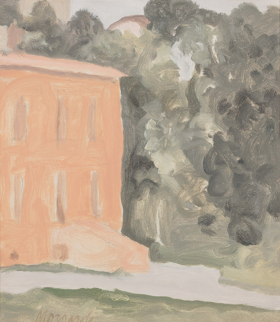 , 'Via Fondazza Courtyard,' 1963, Robilant + Voena