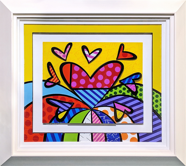 Romero Britto, 'I LOVE THIS LAND (3D MIXED MEDIA)', 2014, Gallery Art