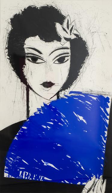 , 'Mujer con abanico I,' 2007, Beck & Eggeling