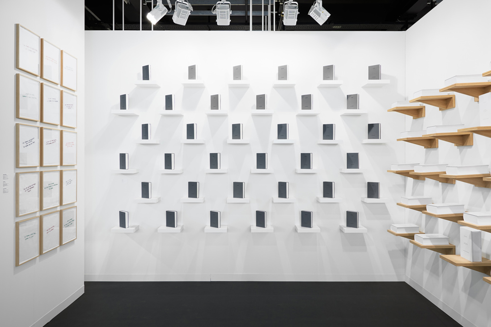 Booth mfc-michèle didier at Art Basel 2015