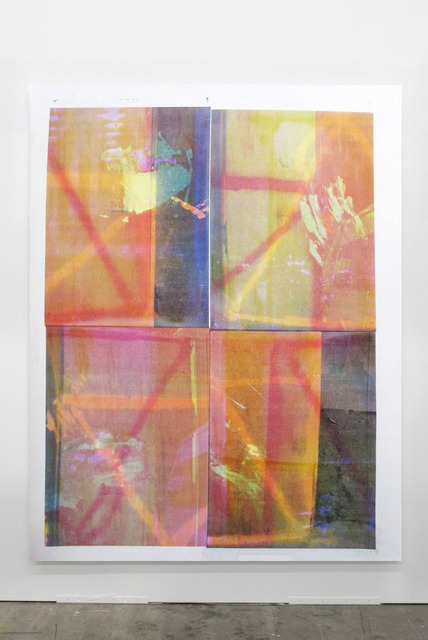 Baptiste Caccia, 'Noix sur parca n°9', 2014, Painting, Silkscreen, acrylic on canvas, Magenta Plains