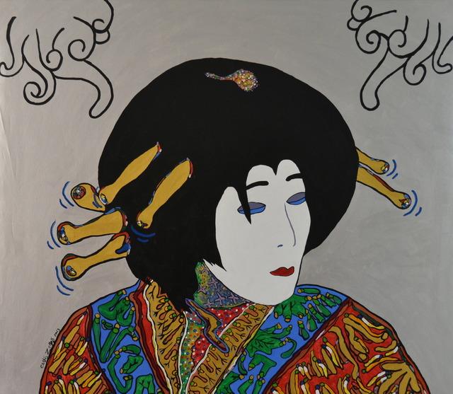 Carlos Zerpa, 'Kabuki Silver', 2013, Galería RGR