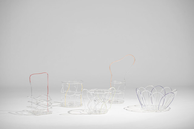 , 'Glass baskets - set of five,' 2008, Casati Gallery