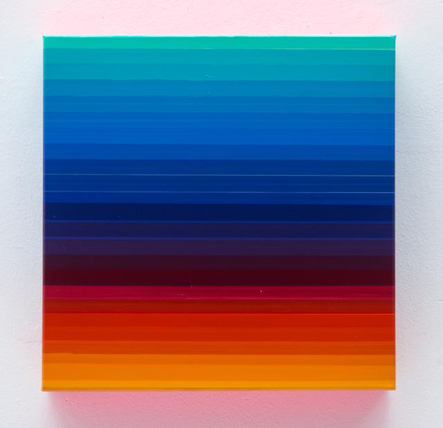 , 'Technicolor Square Celesta,' 2016, Lange + Pult