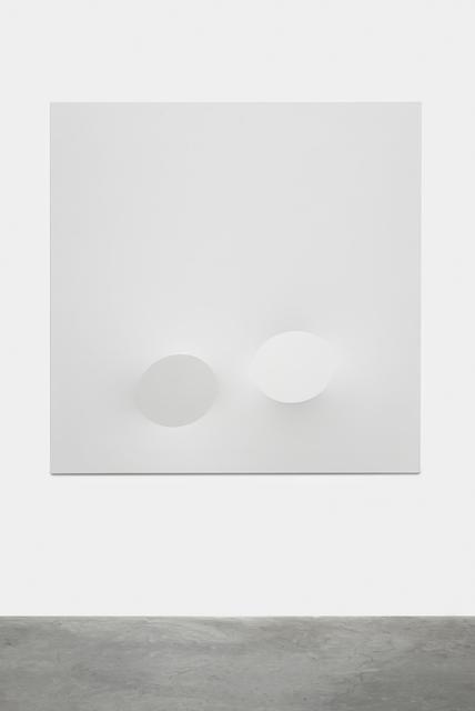 , 'Due ovali bianchi,' 2015, Almine Rech
