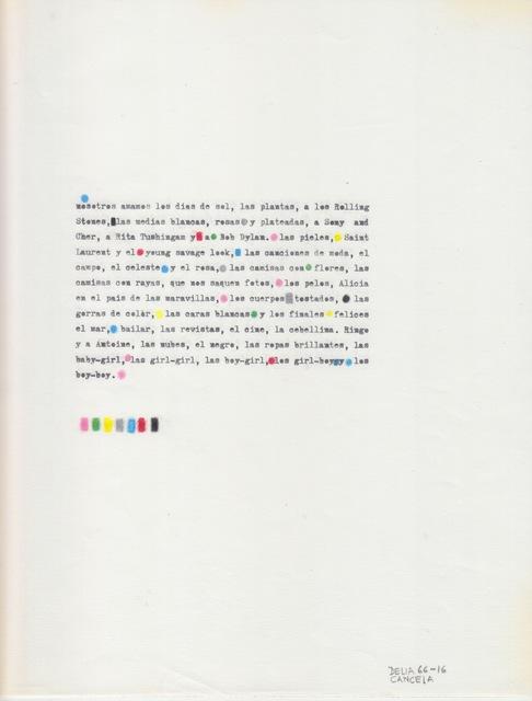 , 'Manifiesto,' 1966, Henrique Faria   Buenos Aires