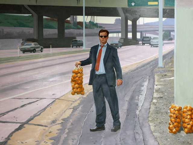 , 'Orange Seller,' 2001, Robert Berman Gallery