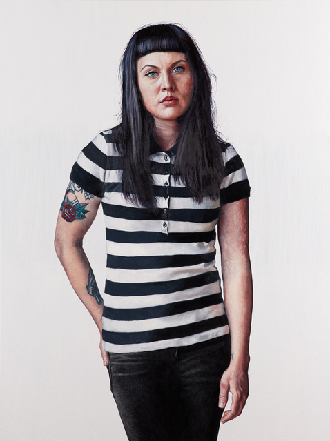 , 'I Got Stripes,' 2017, Lois Lambert Gallery