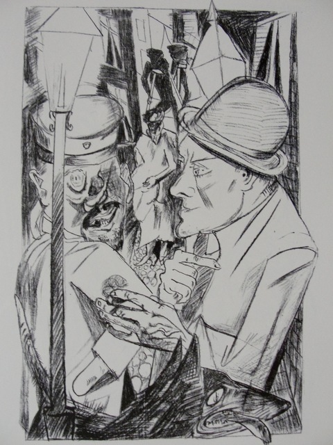 , 'Der Nachhauseweg (The Way Home),' 1919, Worthington Gallery