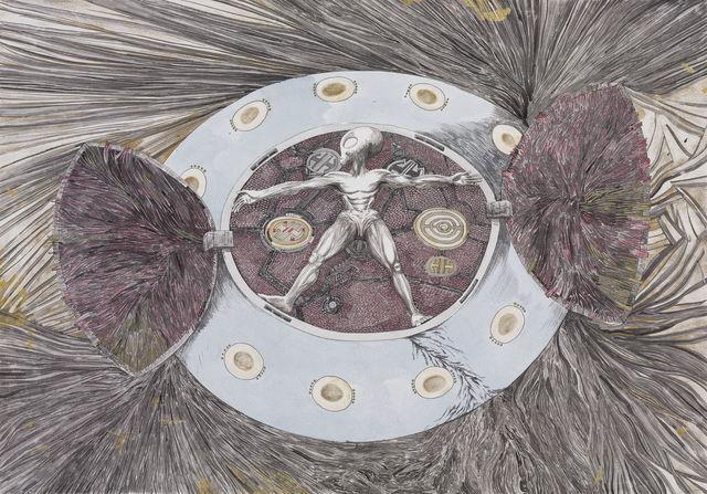 , 'Vitruvian Man,' 2013, A+ Contemporary