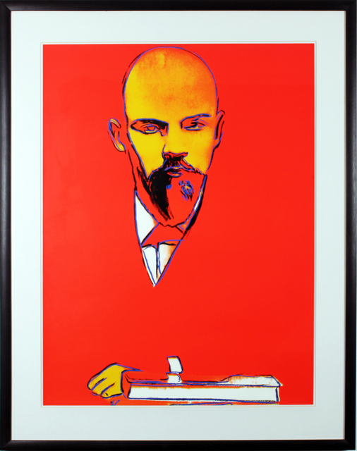 , 'Red Lenin (FS II.403),' 1987, Gormleys Fine Art