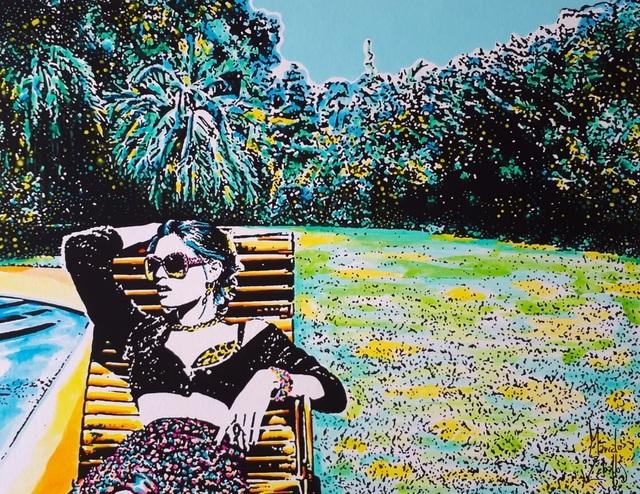 Marcelo Zeballos, 'Pleasures in the garden', 2019, Mamush Gallery