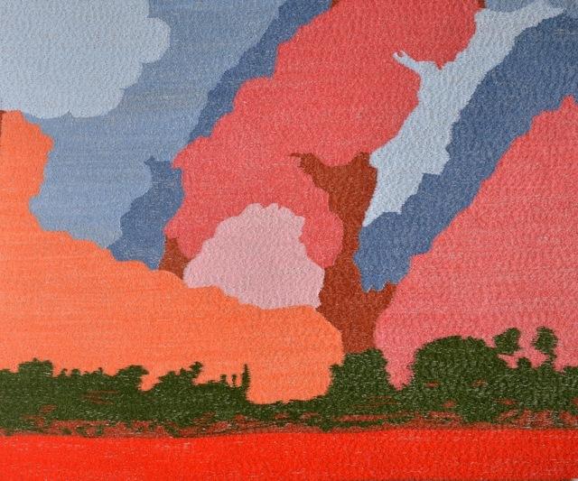 Karine Boulanger, 'Elizabeth', 2015, Textile Arts, Silk on linen embroidery, Spotte Art