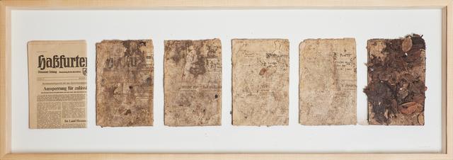 , 'vergänglichkeitswerk II / transit,' 1980, Cortesi Gallery