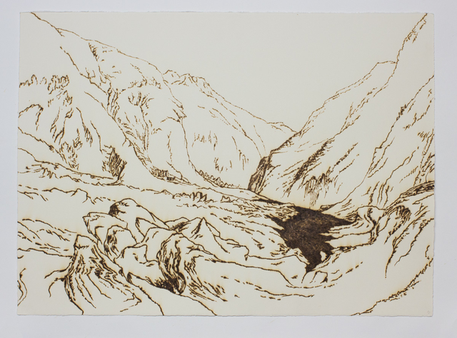 Saad Qureshi, 'Scorched Lines - S3', 2016, Gazelli Art House