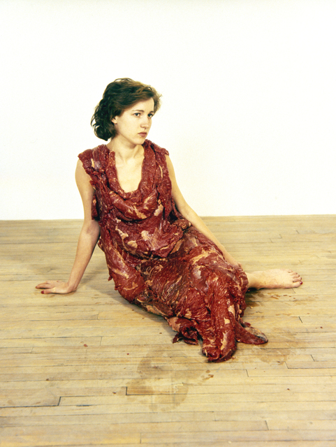 , 'Vanitas: Flesh Dress For An Albino Anorectic,' 1987-2006, Barbara Gross