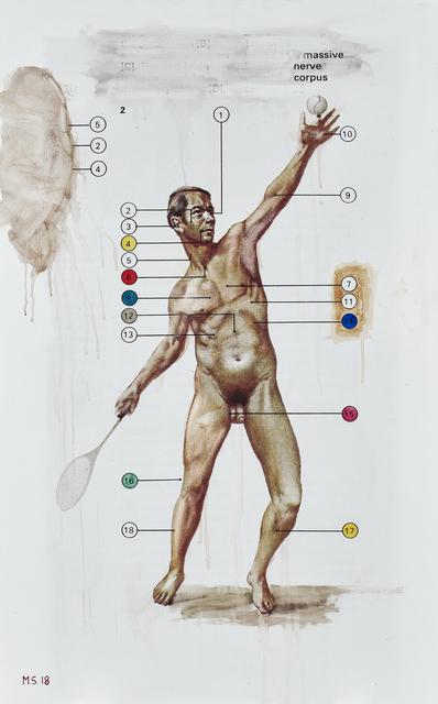 , 'Massive Nerve Corpus,' 2018, Goodman Gallery