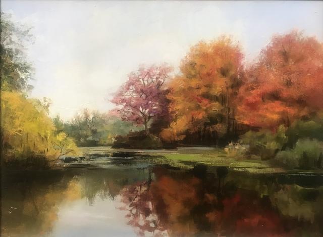 , 'Autumn in Prospect Park,' 2019, The Galleries at Salmagundi
