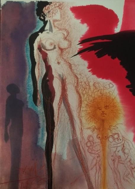 "Salvador Dalí, 'Uxnor Lot in satuam salis - From ""Biblia Sacra""', 1965, Wallector"