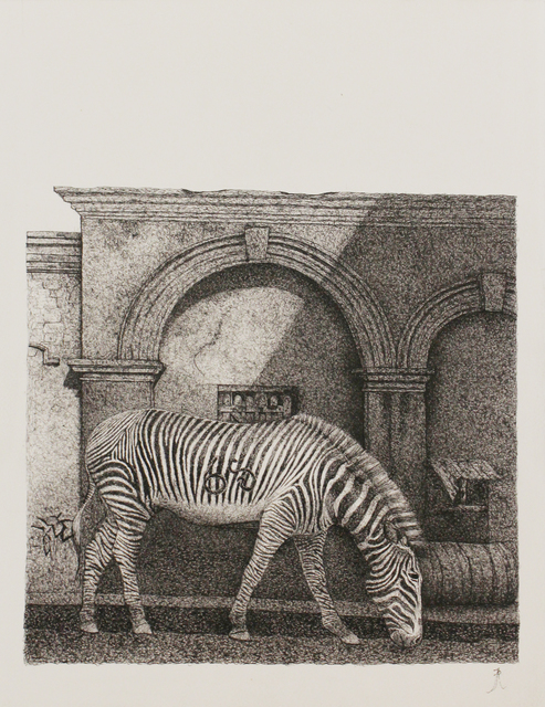 , 'Zebra,' 2018, Saskia Fernando Gallery