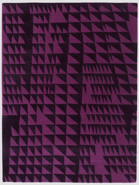 , 'Composition in Black Magenta,' 2015, Maddox Arts