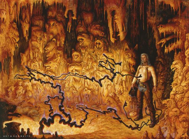 Don Maitz, 'Desperation - The Well', 1995, IX Gallery