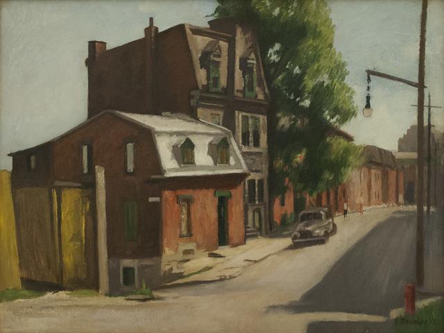 , 'Untitled,' 1952, Canadian Fine Arts