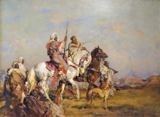 Henri Emilien Rousseau, 'Le soir aux Meknés', 1928, Sebastian Deya Gallery