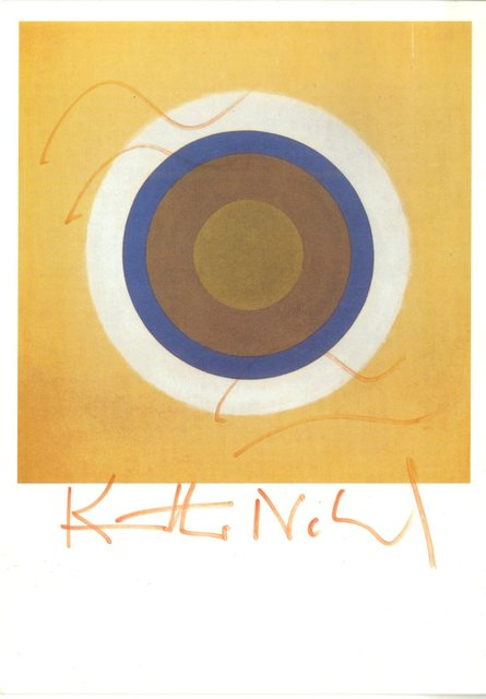 Kenneth Noland, 'Gift (Hand signed) ', ca. 2000, Alpha 137 Gallery