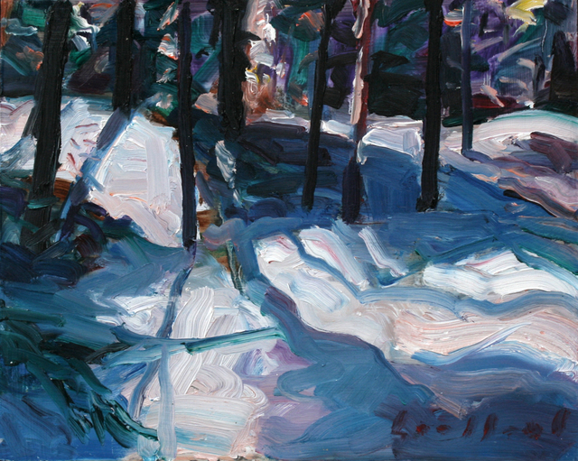 , 'Snow Trail,' 2003, Wallace Galleries