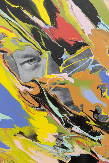 Douglas Coupland, 'Father Figure Peter Graves', 2018, Painting, Inkjet print on canvas, acrylic, Daniel Faria Gallery