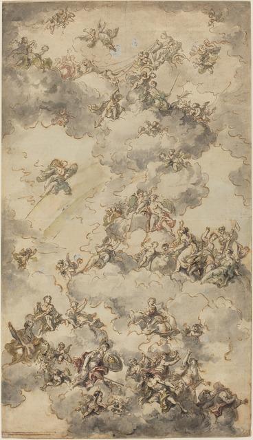 Bartolomeo Tarsia, 'The Triumph of Wisdom', ca. 1750, National Gallery of Art, Washington, D.C.