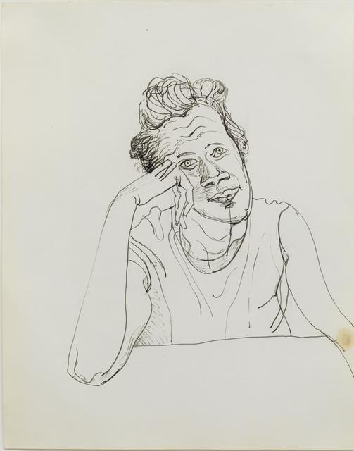 , 'Bette Fisher,' 1965, Aurel Scheibler
