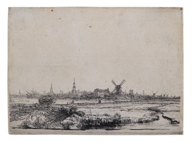 , 'View of Amsterdam from the Northwest,' ca. 1640, David Tunick, Inc.