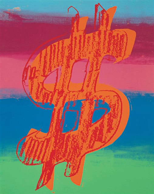 Andy Warhol, 'Dollar Sign', 1981, Omer Tiroche Gallery