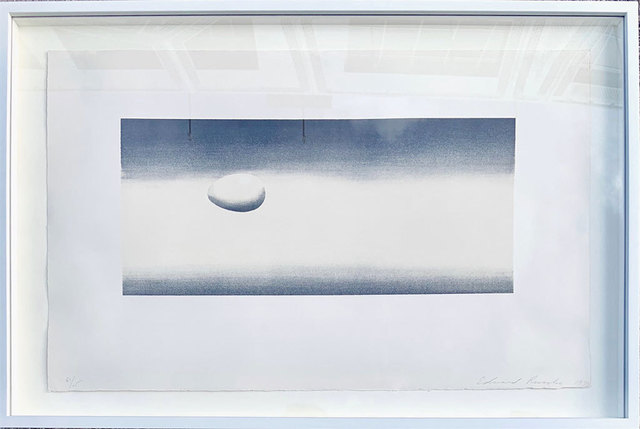 Ed Ruscha, 'Egg  (from the Domestic Tranquility Series)', 1974, Robert Fontaine Gallery