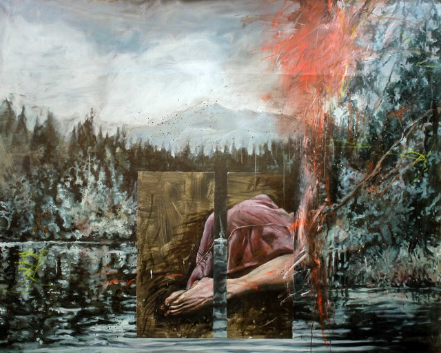 , 'The Shore,' 2017, Kloser Contemporary Art