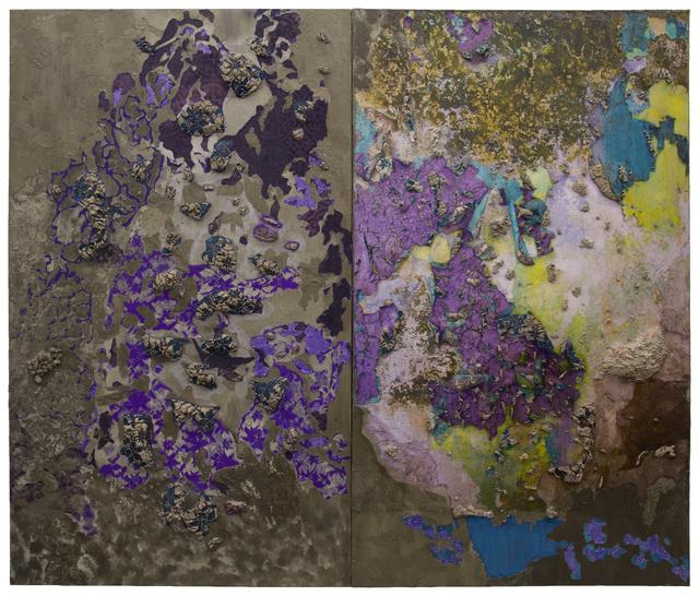 Naomi Safran-Hon, 'Wadi Salib: Interior Landscape (Purple Wall)', 2013, Slag Gallery