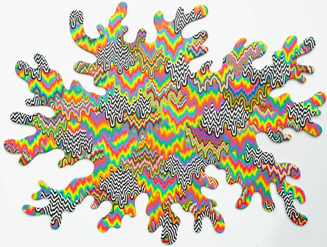 , 'Organic Drip,' 2016, Johannes Vogt Gallery