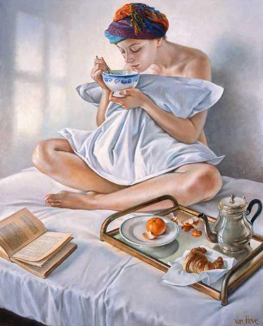 , 'Plaisirs du matin,' 2017, Jean-Marie Oger