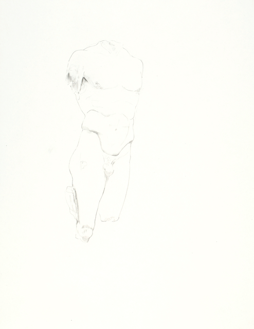 , 'Doryphoros IV,' 2016, Galerie Krinzinger