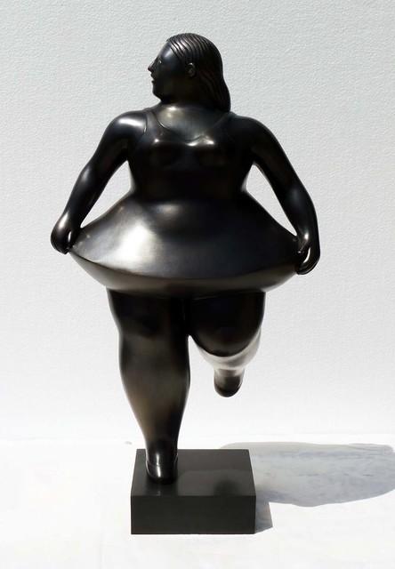 , 'Ballerina. E.A. 1/2,' 2013, Fernando Pradilla/El Museo