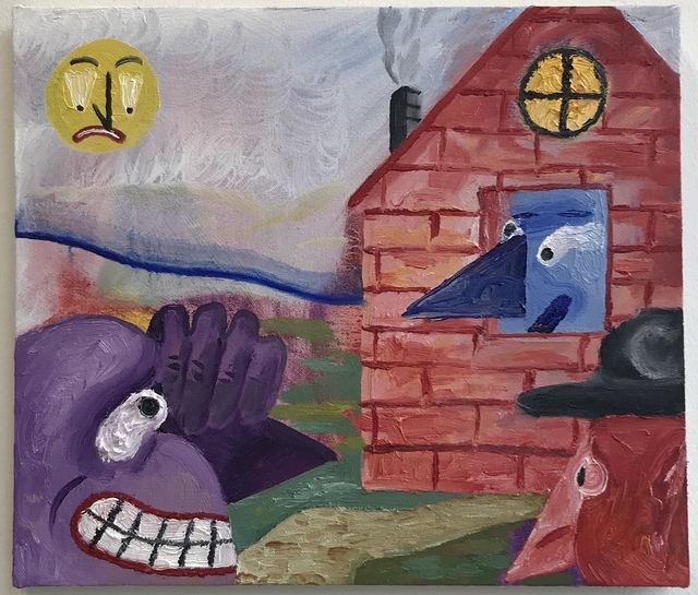 , 'Elias Njima - Knock Knock ,' 2016, Galerie Ron Mandos