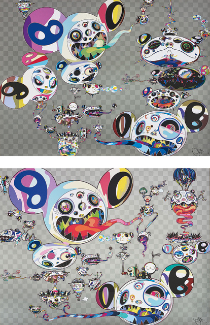 Takashi Murakami, 'Another Dimension Brushing Against Your Hand; and Hands Clasped', 2015, Phillips