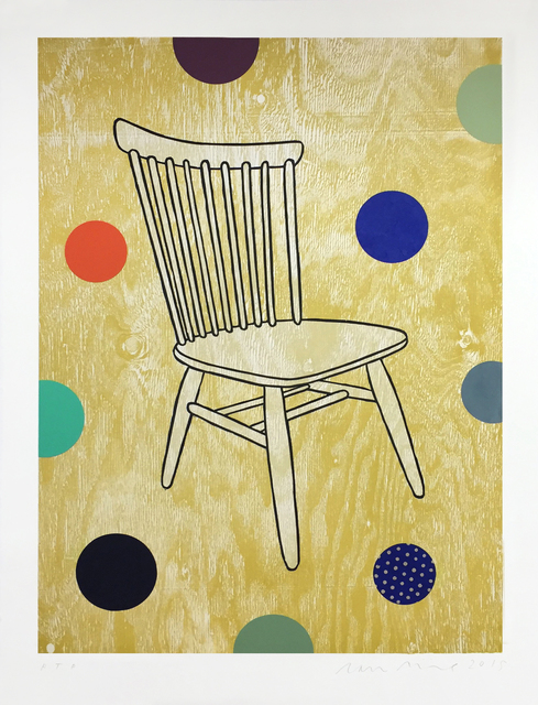 , 'Empty Chair,' 2015, Barry Whistler Gallery