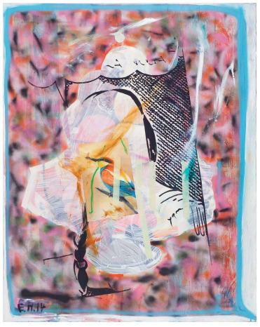 , 'Erst Dann Lecker,' 2014, Galería Karen Huber