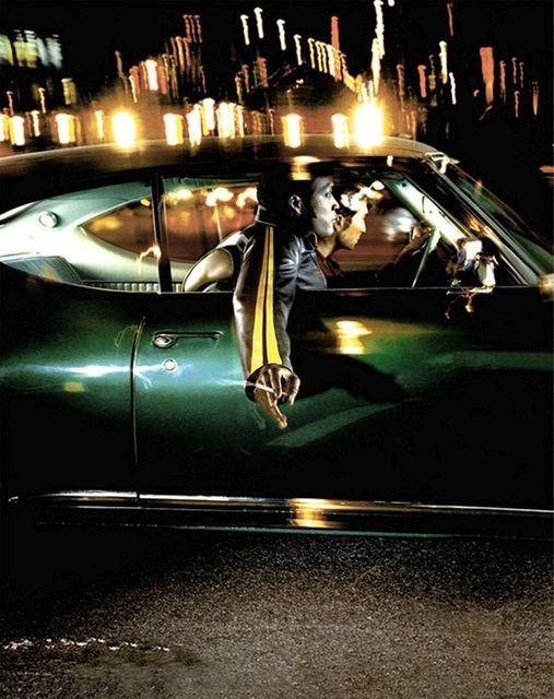 David Drebin, 'Two Guys in a Green Car', 2002, Photography, épreuve couleur, Diasec / C-print, Diasec, Galerie de Bellefeuille